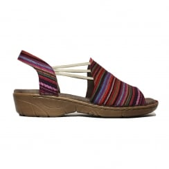 57283-83 Multi Womens Sandal