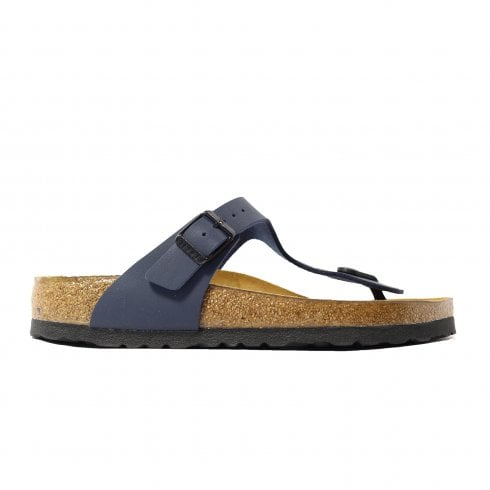 Birkenstock Gizeh Blue Womens Slip On Toe Post Sandals