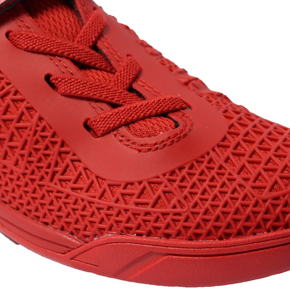 3252f3f25d24 ... Clarks Award Blaze Infant Red Combination Boys Rip Tape/Lace Up Astro  Turf Trainers