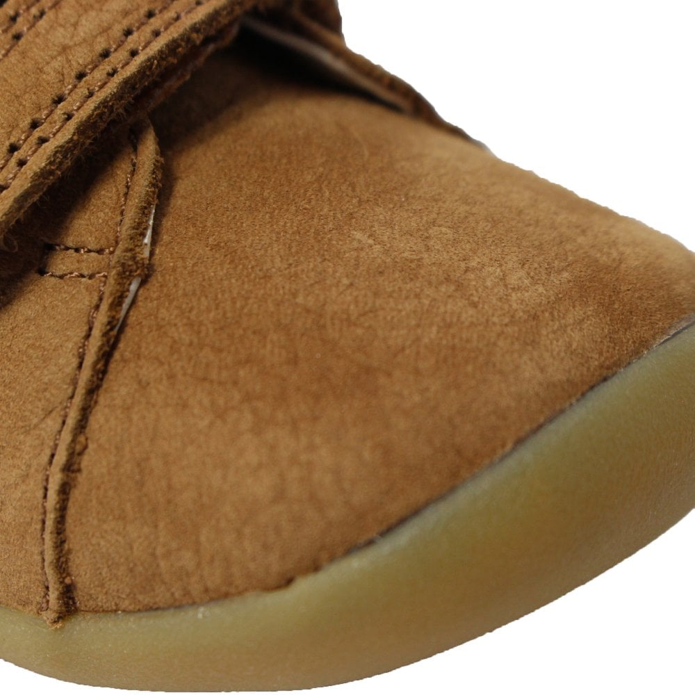 ddfc4fc92a8a1 ... Clarks CLA Roamer Craft Infant Tan Leather Childrens Pre Walker Rip  Tape Shoes