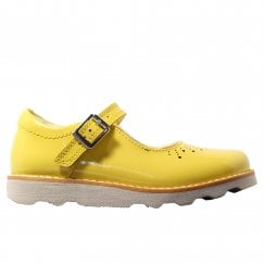 e8acf5cd8659 Crown Jump Infant Yellow Patent Leather Girls Mary Jane Shoes. Clarks ...