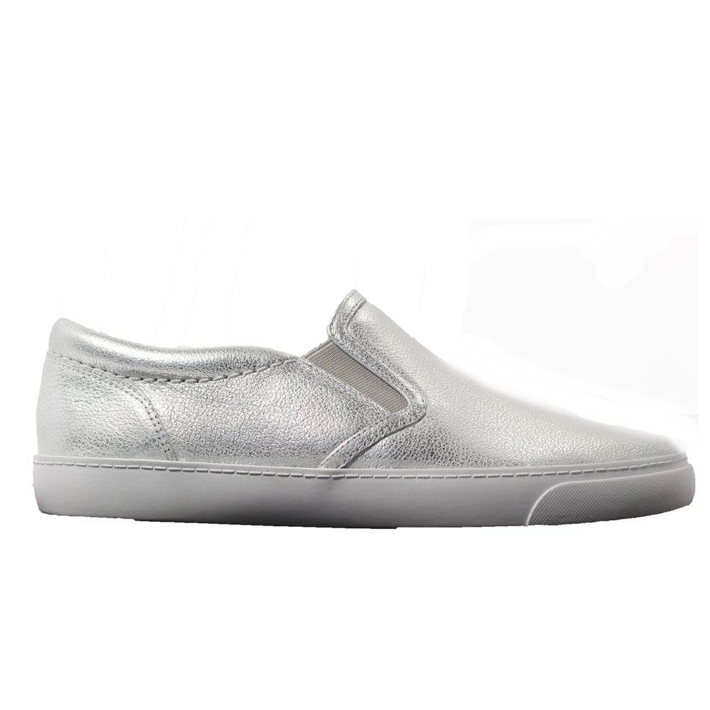 silver trainer shoes outlet online