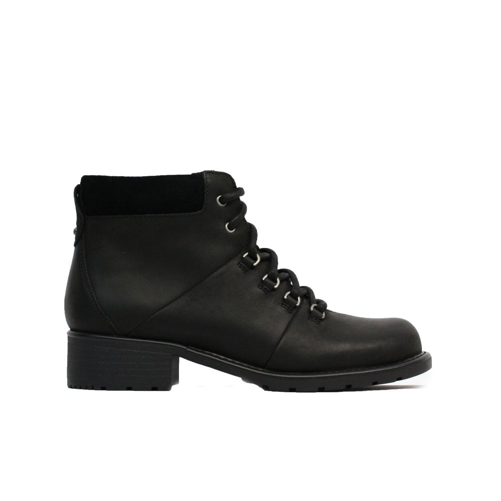 Clarks Orinoco Demi Black Leather