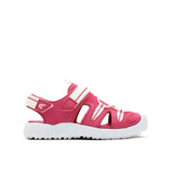 Rapid Beach Raspberry Girls Closed Toe Sandal