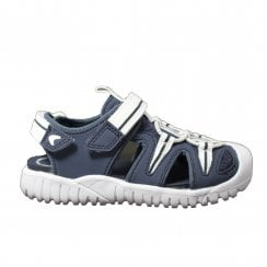 Rapid Time Navy Boys Closed Toe Sandals