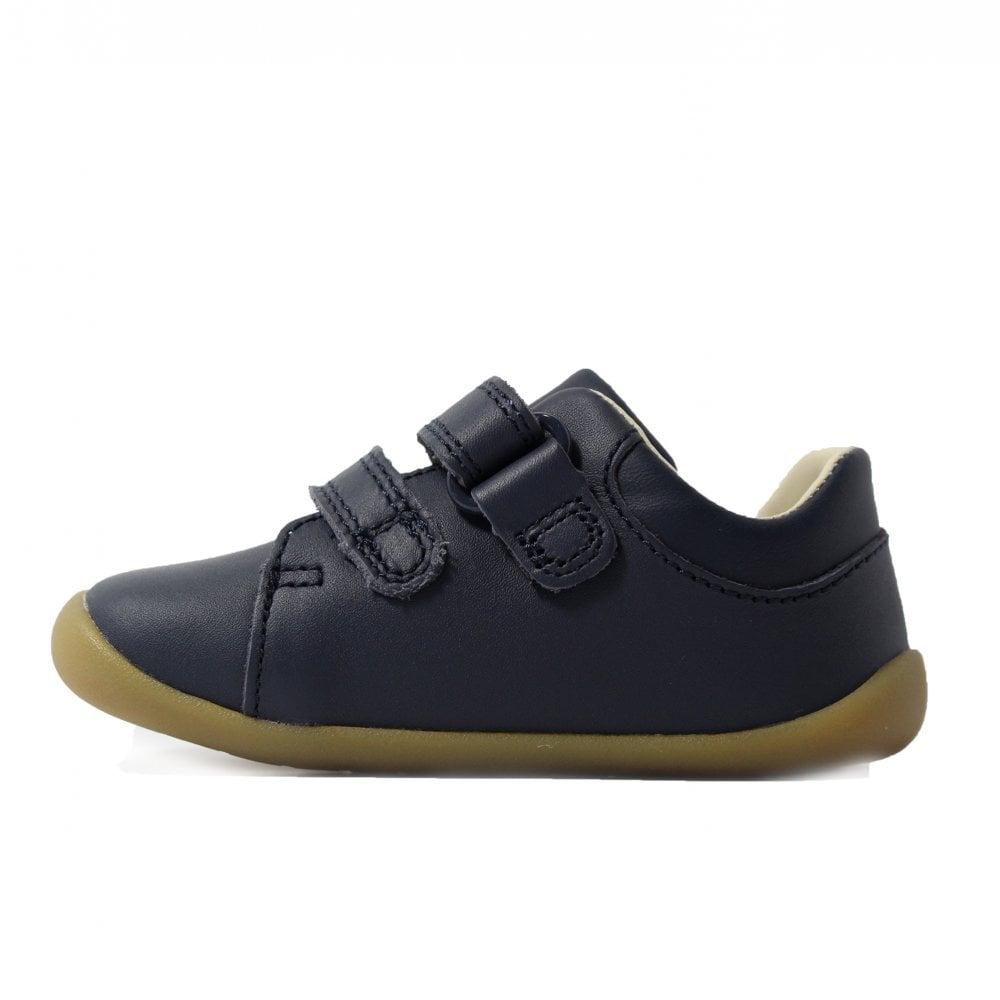 Clarks Roamer Craft Infant Navy Leather