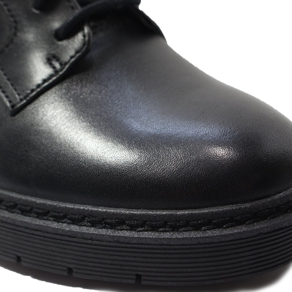 Clarks Witcombe Lace Black Leather