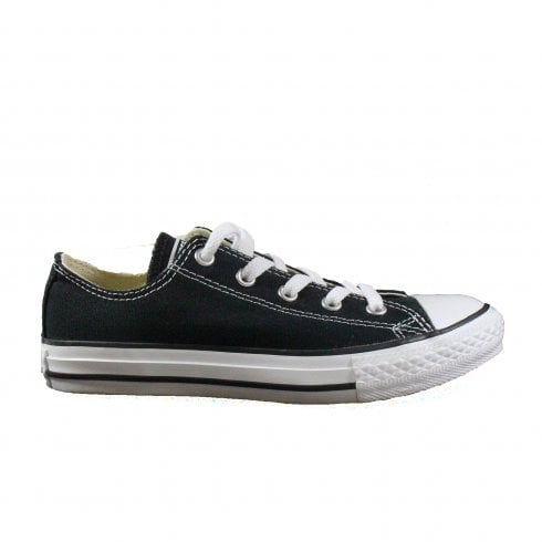 Converse Chuck Taylor All Star Classic 3J235 Black Canvas Unisex Lace Up Sneaker Shoes