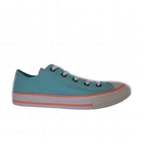 Converse Chuck Taylor All Star Ox 660733C Aqua Canvas Unisex Lace Up Casual Trainer Shoes