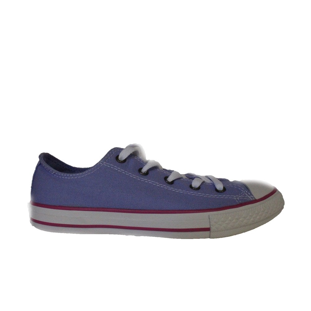 cb4e37c6d9b2 Converse Chuck Taylor All Star Ox 660733C Lilac Canvas Unisex Lace Up Casual  Trainer Shoe - Converse from North Shoes UK