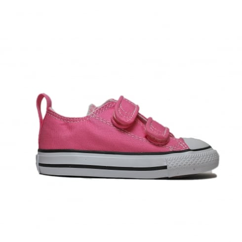 Converse Chuck Taylor All Star Ox 709447F Pink Canvas Unisex Riptape Shoe
