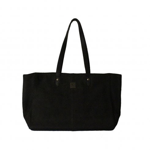 Dubarry Baltinglass Black Leather Large Tote Bag