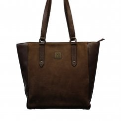 Bandon Walnut Brown Tote Bag