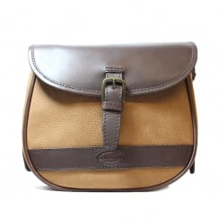 Clara Brown Tan Handbag