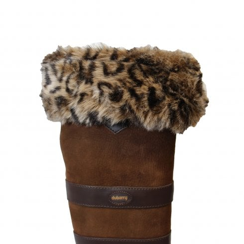 Dubarry Leopard Boot Liners - Perfect For Keeping Your Feet Warm All Day