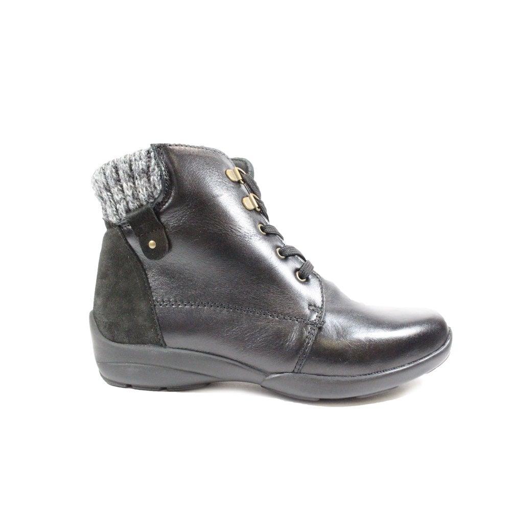 Easy B Glanmore 2V Black Leather Womens