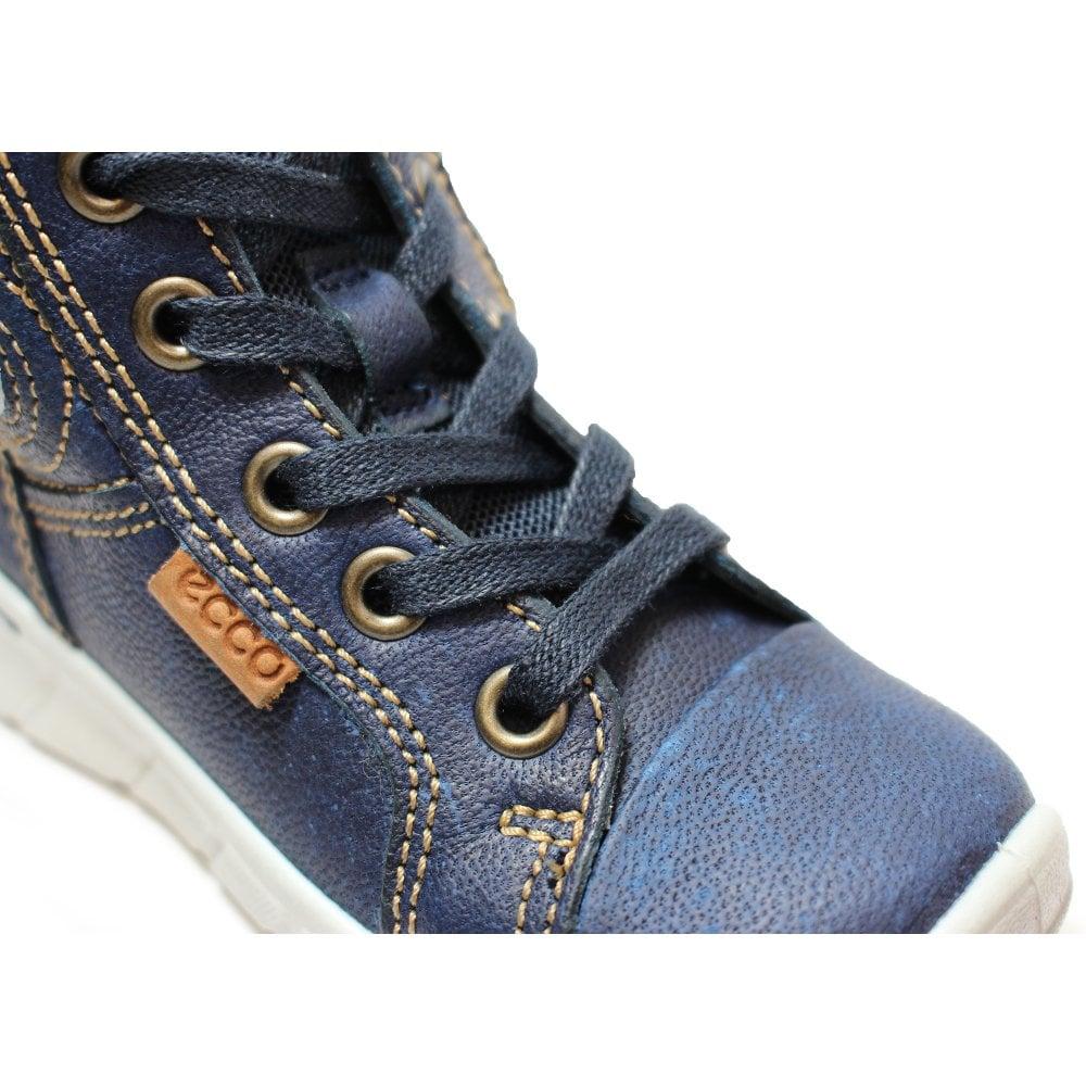 Ecco Indigo 7 754021 01325 Blue Leather