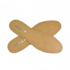 Solos Relax Leather Carbon Insoles - Takes Depth Out Of Shoes