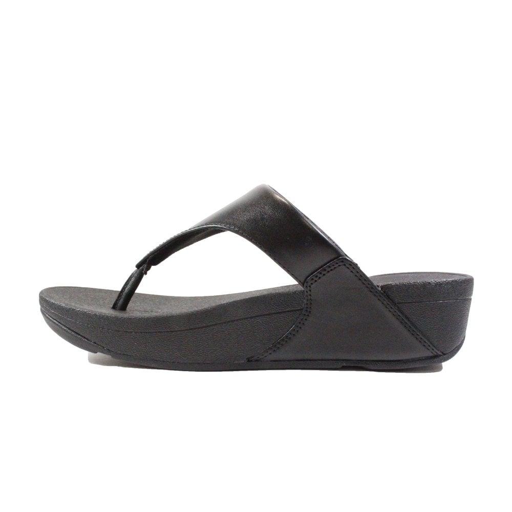 fitflop black sandals
