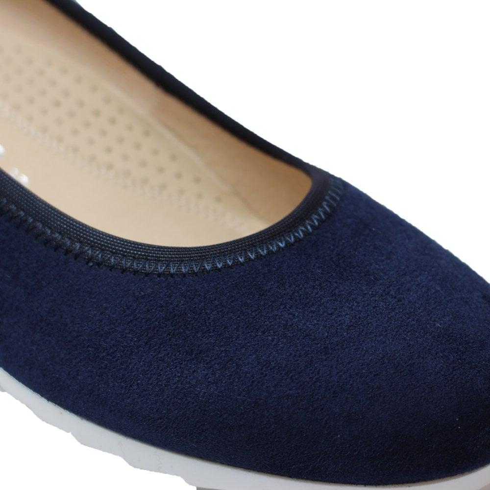 Gabor Epworth 641-36 Navy Blue Suede