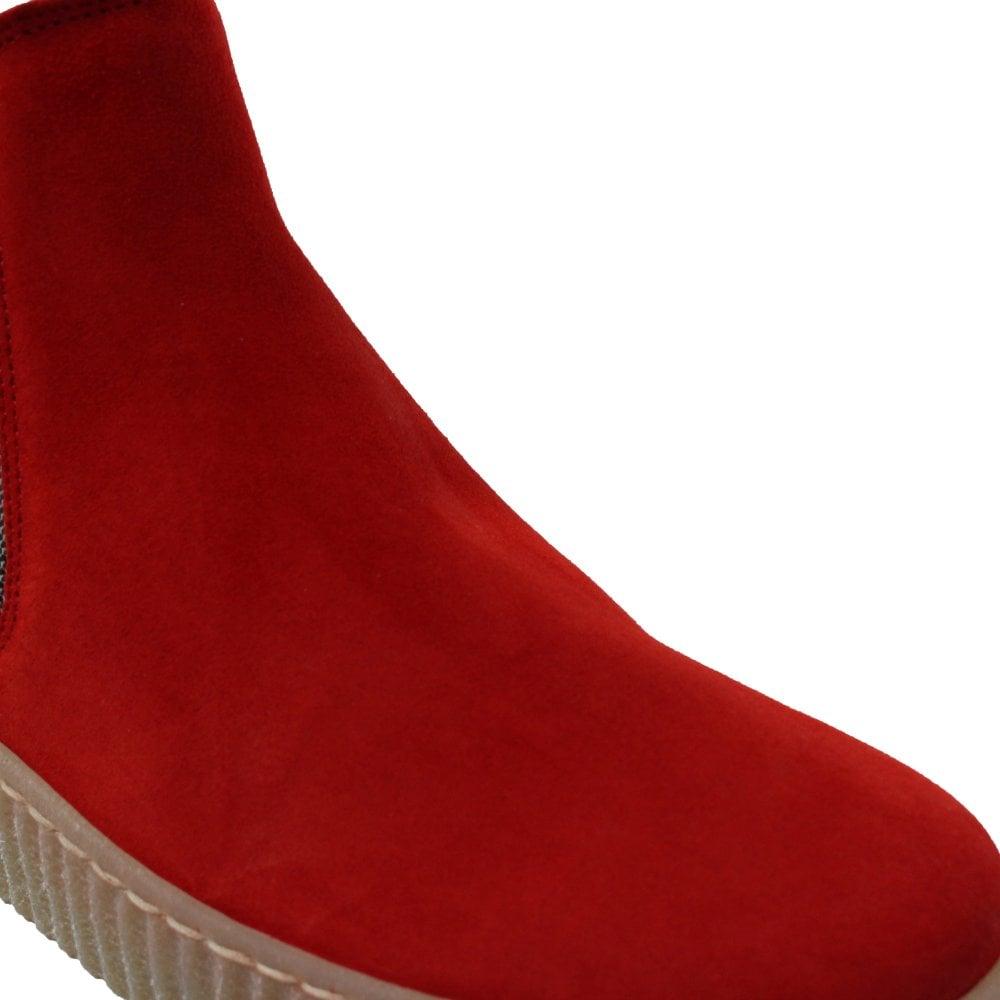 Gabor Lourdes 731-35 Red Suede Leather
