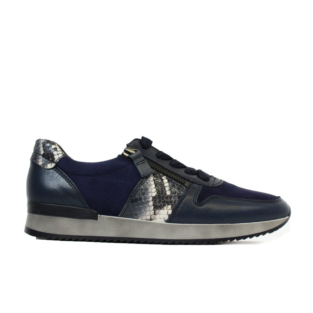 Gabor Lulea 420-26 Navy Suede/Leather