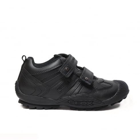 GEOX Savage J0324G Black Boys Shoe