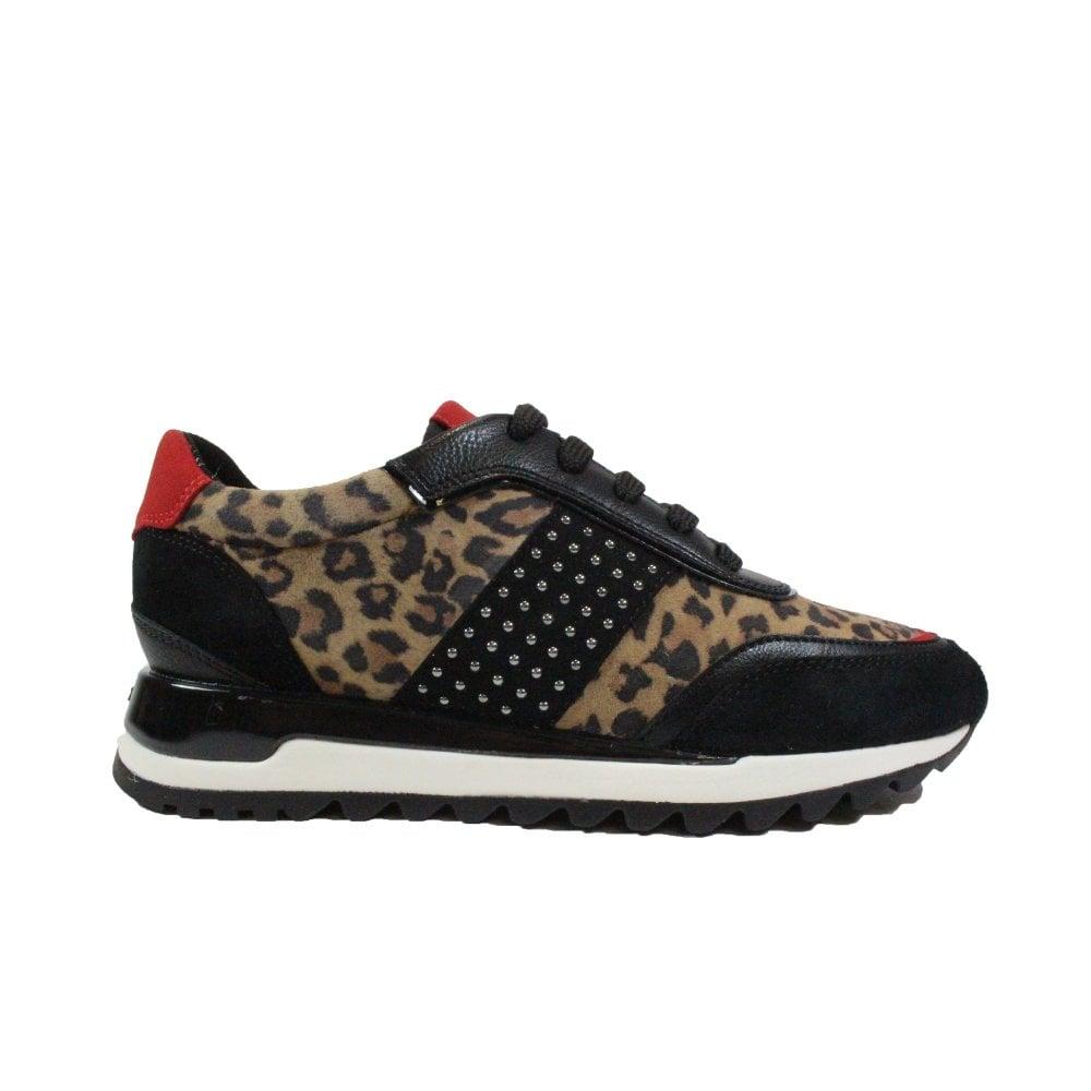 Geox Tabelya D94AQA Black/Leopard Print