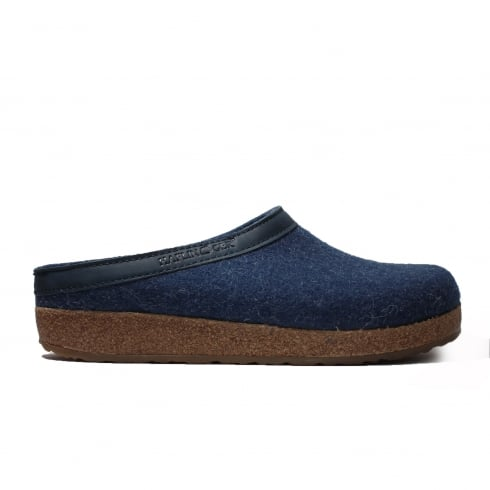 HAFLINGER Grizzly Blue Unisex Slipper