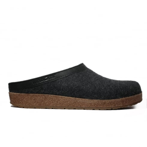 HAFLINGER Grizzly Grey Unisex Slipper