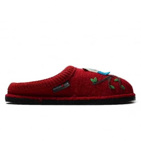 HAFLINGER Olivia Red Unisex Slipper