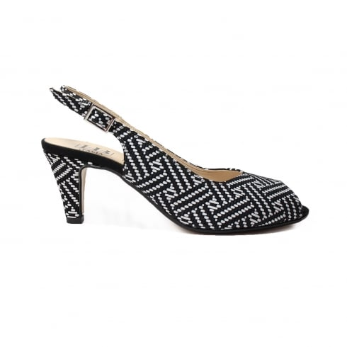 HB ITALIA B272 Black Womens Sandal