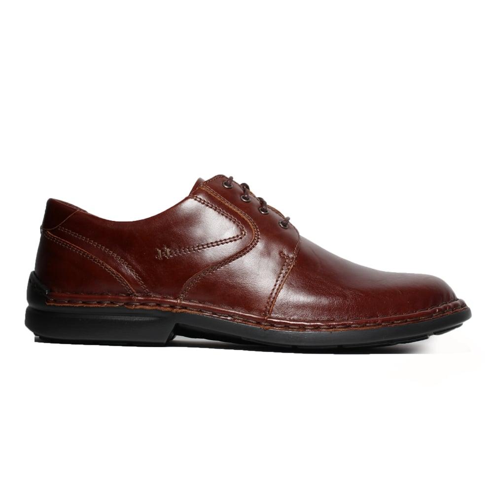 Josef Seibel Walt Brown Leather Mens