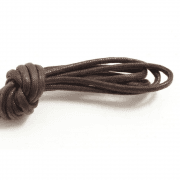 Brown Waxed Shoe Lace 90cm