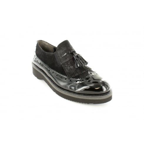 PAUL GREEN 1023-02 Black Womens Shoe