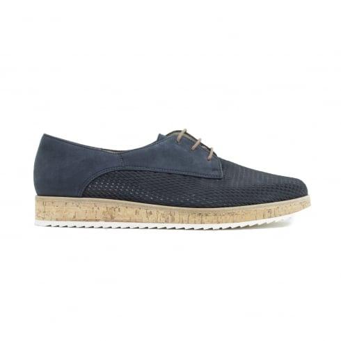 PAUL GREEN 1069-01 Navy Womans Shoe
