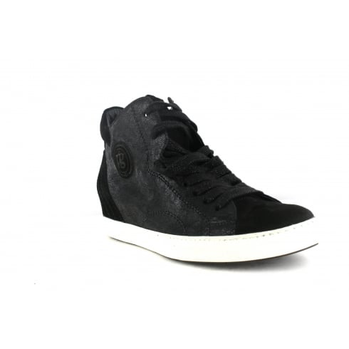 PAUL GREEN 1401-11 Black Womens Boot