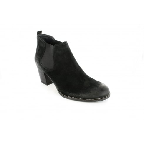 PAUL GREEN 1466-08 Black Womens Boot