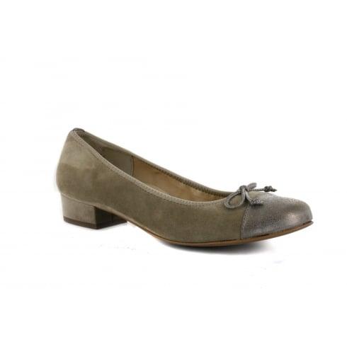 PAUL GREEN 1570-01 Grey Womens Shoe