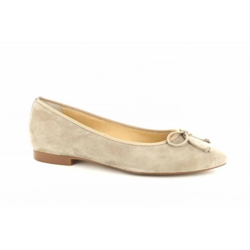 Paul Green 1690-04 Beige Suede Leather Womens Slip On Shoe - UK 5