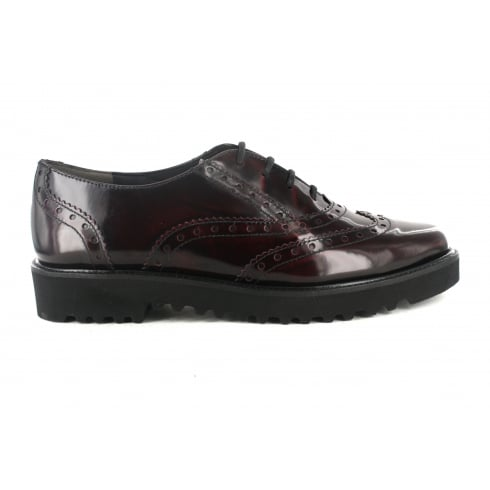 PAUL GREEN 1702-04 Burgundy Womens Shoe
