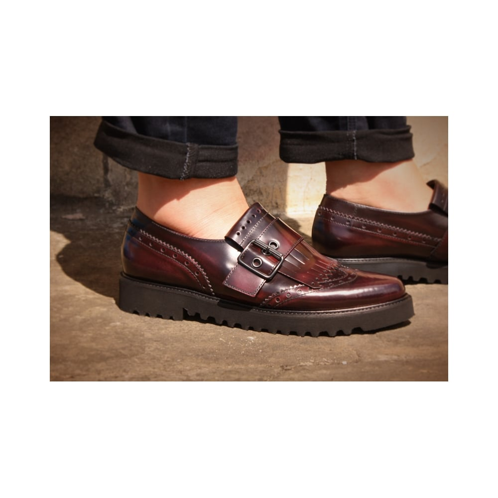 Paul Green 1711-04 Burgundy Leather