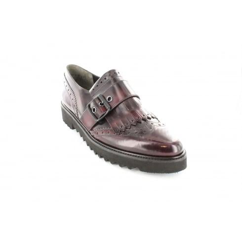 PAUL GREEN 1711-04 Burgundy Womens Shoe
