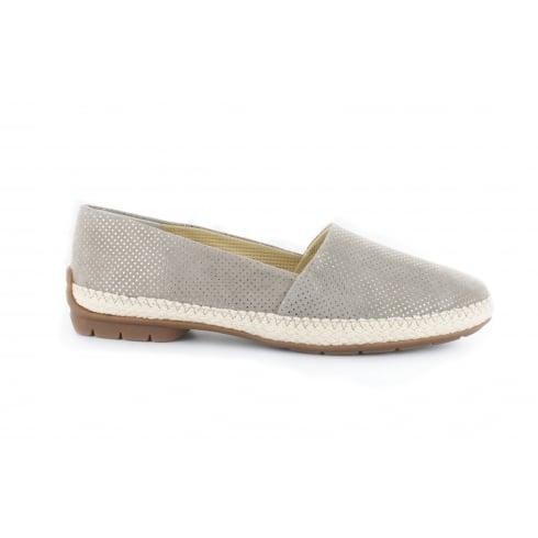 PAUL GREEN 1962-06 Silver Womens Shoe
