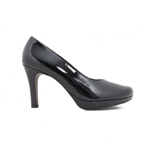 PAUL GREEN 2834-81 Black Womens Shoe