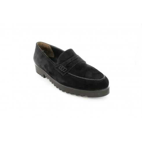 PAUL GREEN 3142-00 Black Womens Shoe