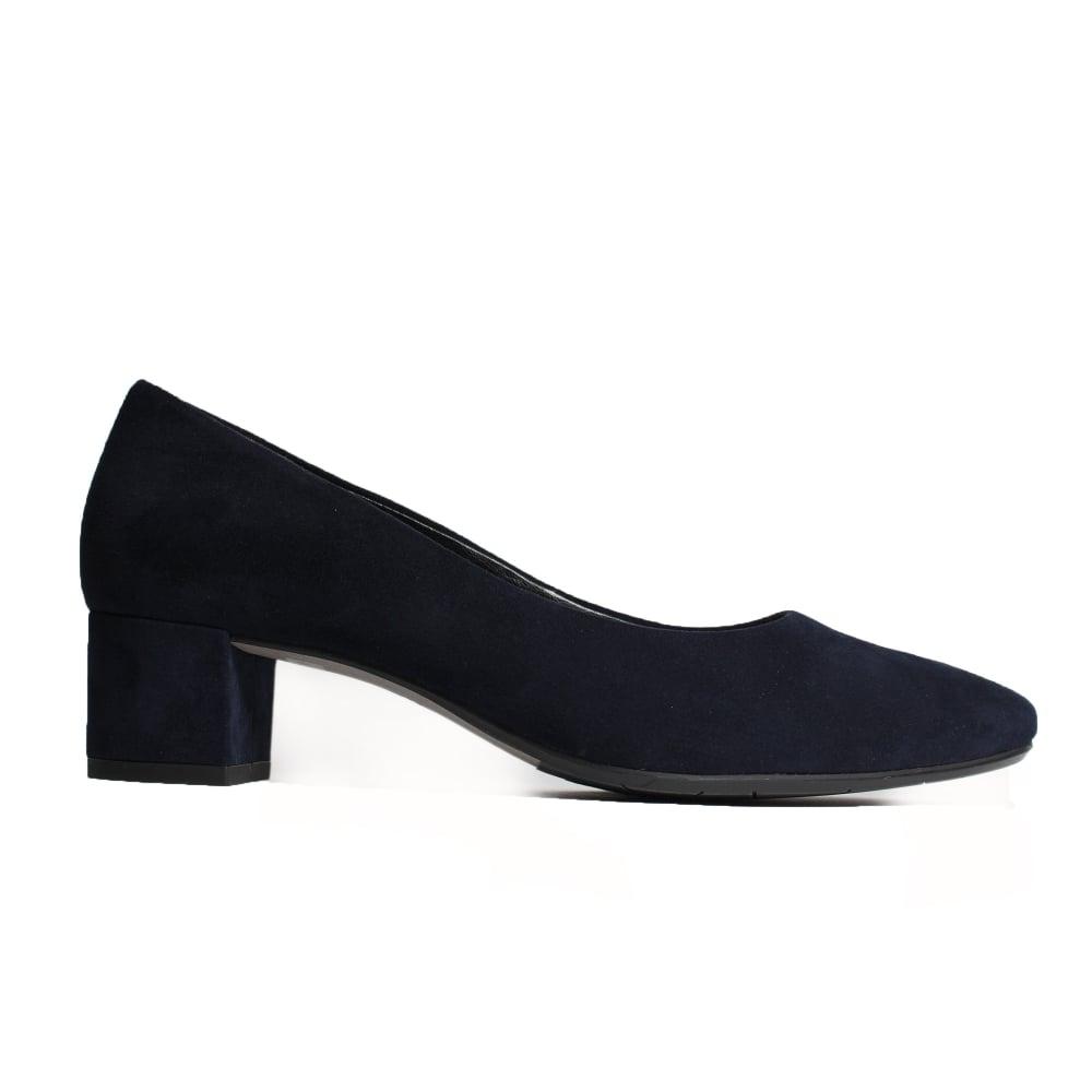 Ecco Navy Nubuck Shoe Boots
