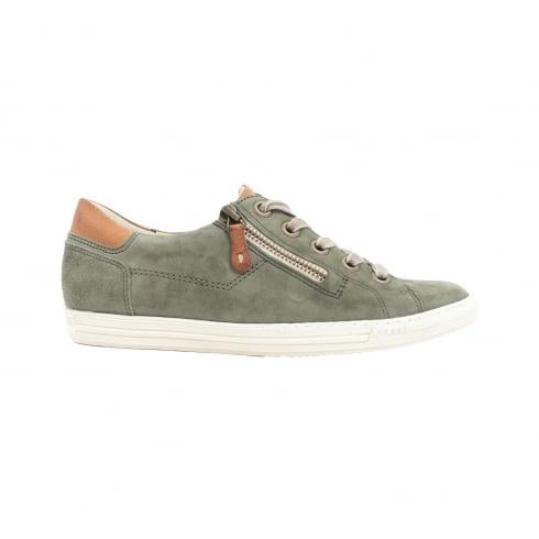 PAUL GREEN 4128-47 Olive Womens Shoe