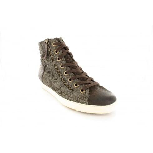 PAUL GREEN 4213-11 Metallic Womens Boot