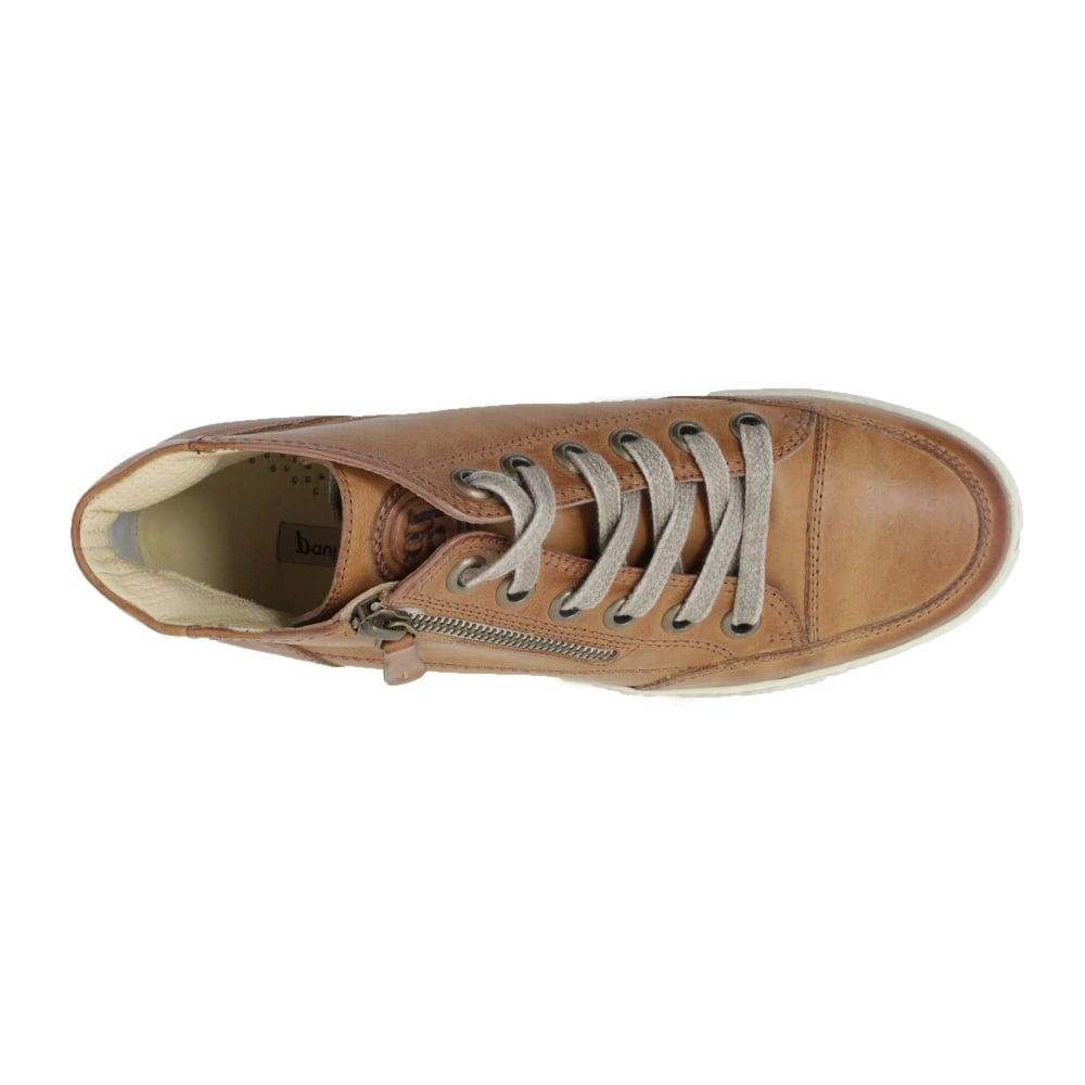 Paul Green 4242-13 Tan Leather Womens